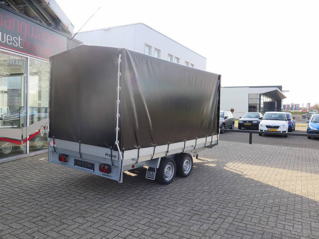 Proline plateauwagen met huif te koop bij aanhangwagens for Opknap boerderij te koop brabant