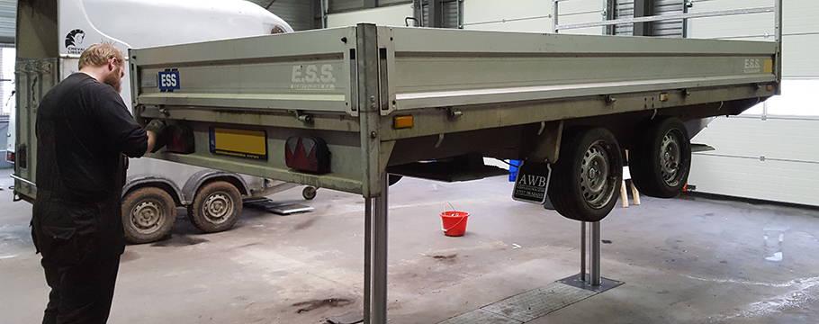 Onderhoud aan uw aanhanger - Aanhangwagens XXL West Brabant