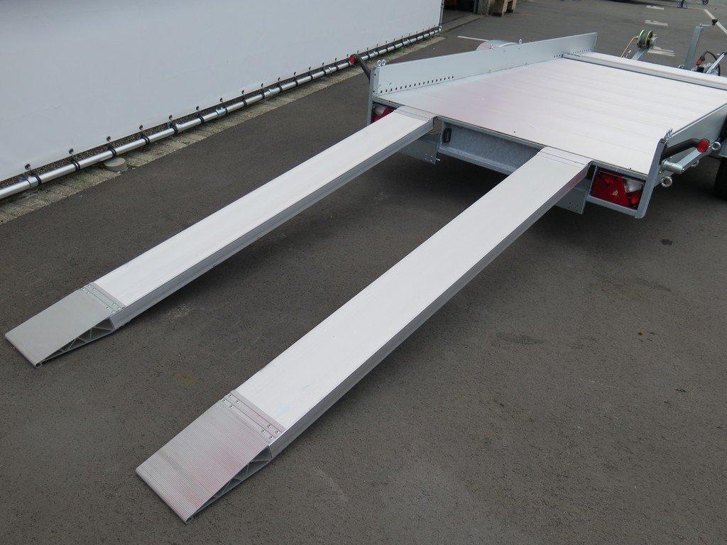 Anssems autotransporter 340x170cm 1200kg Aanhangwagens XXL West Brabant 2.0 achter rijplaten