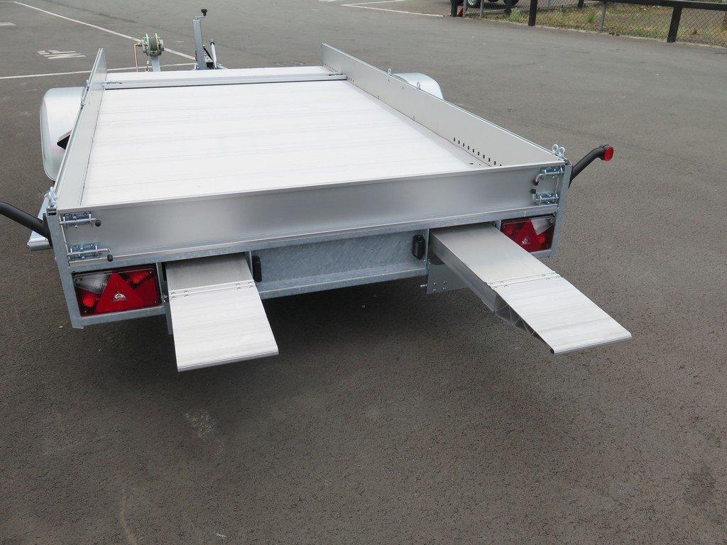 Anssems autotransporter 340x170cm 1200kg Aanhangwagens XXL West Brabant 2.0 rijplaten in slede