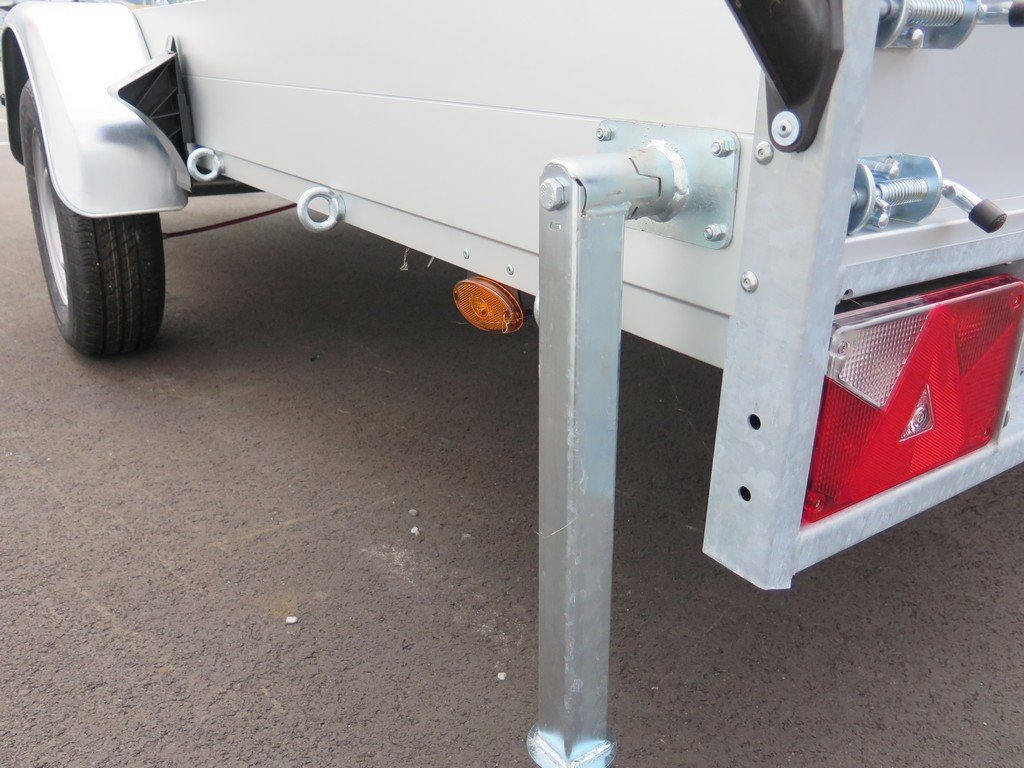 Anssems autotransporter 340x170cm 1200kg Aanhangwagens XXL West Brabant 2.0 steunpoten