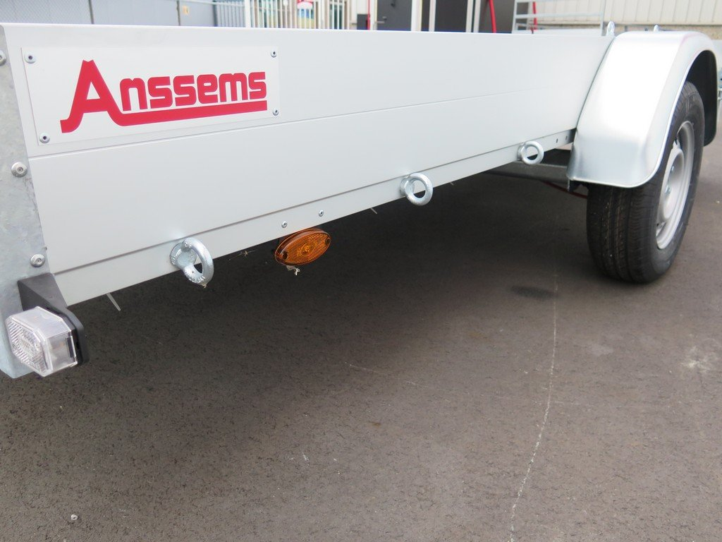 Anssems autotransporter 340x170cm 1200kg Aanhangwagens XXL West Brabant 2.0 vastbindogen