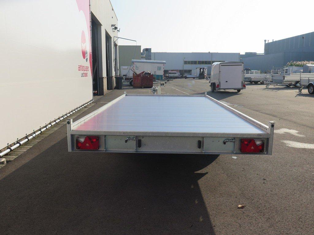 Anssems autotransporter 405x200cm 3000kg Aanhangwagens XXL West Brabant 2.0 achterkant Aanhangwagens XXL West Brabant
