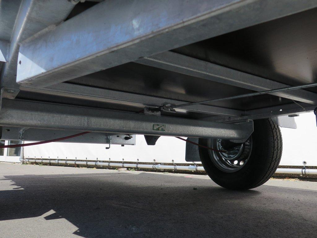 Anssems enkelas aanhanger 251x130cm 1350kg