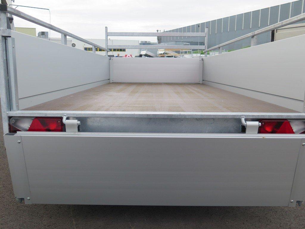 Anssems enkelas aanhanger 251x130cm 1350kg alu Aanhangwagens XXL West Brabant 2.0 achter open Aanhangwagens XXL West Brabant