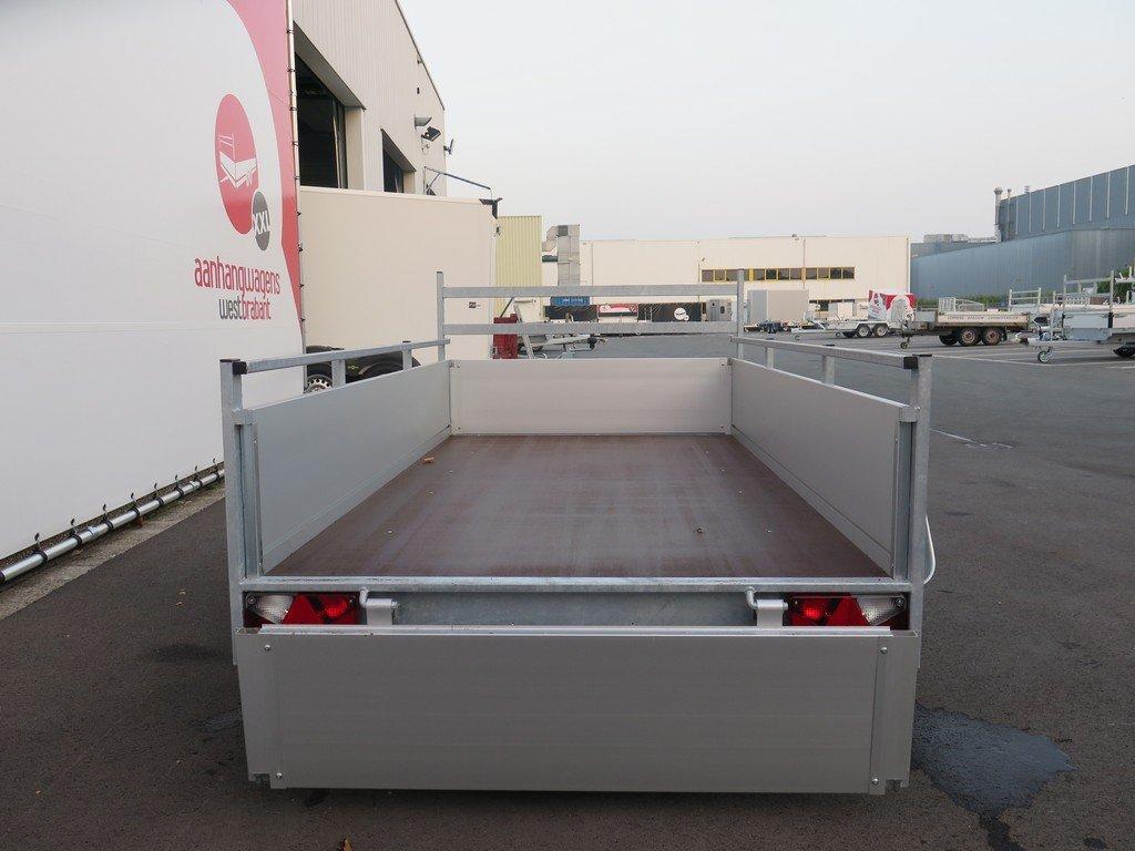 Anssems tandemas aanhanger 251x130cm 2500kg Aanhangwagens XXL West Brabant 2.0 achter open