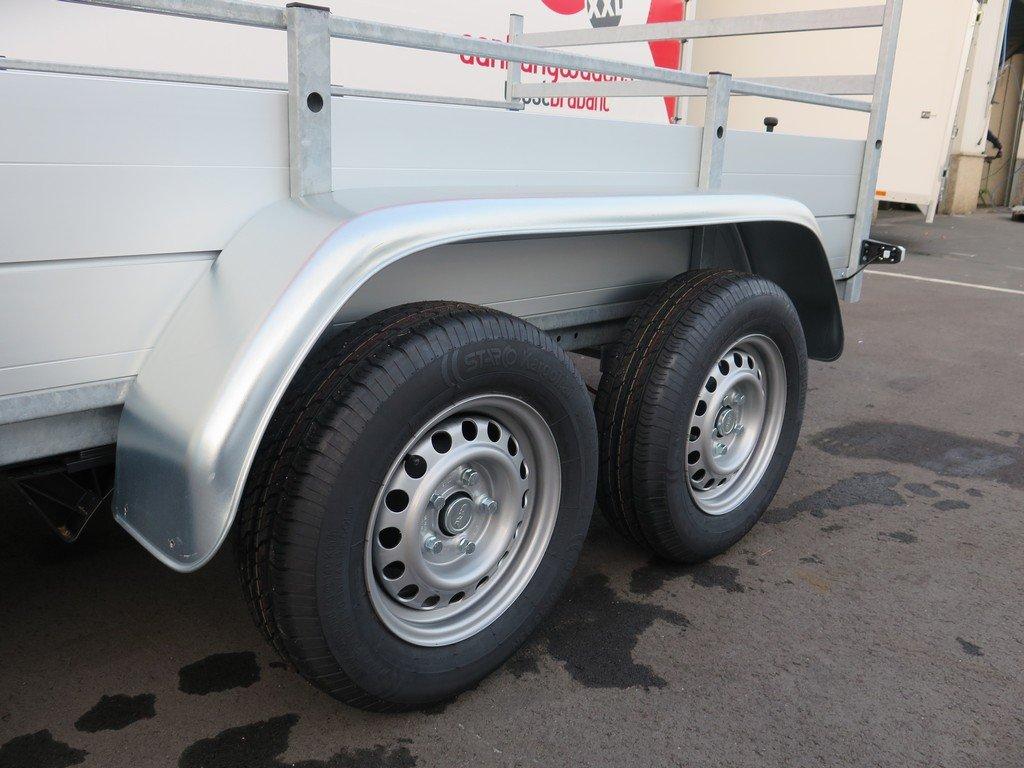 Anssems tandemas aanhanger 251x130cm 2500kg Aanhangwagens XXL West Brabant 2.0 banden
