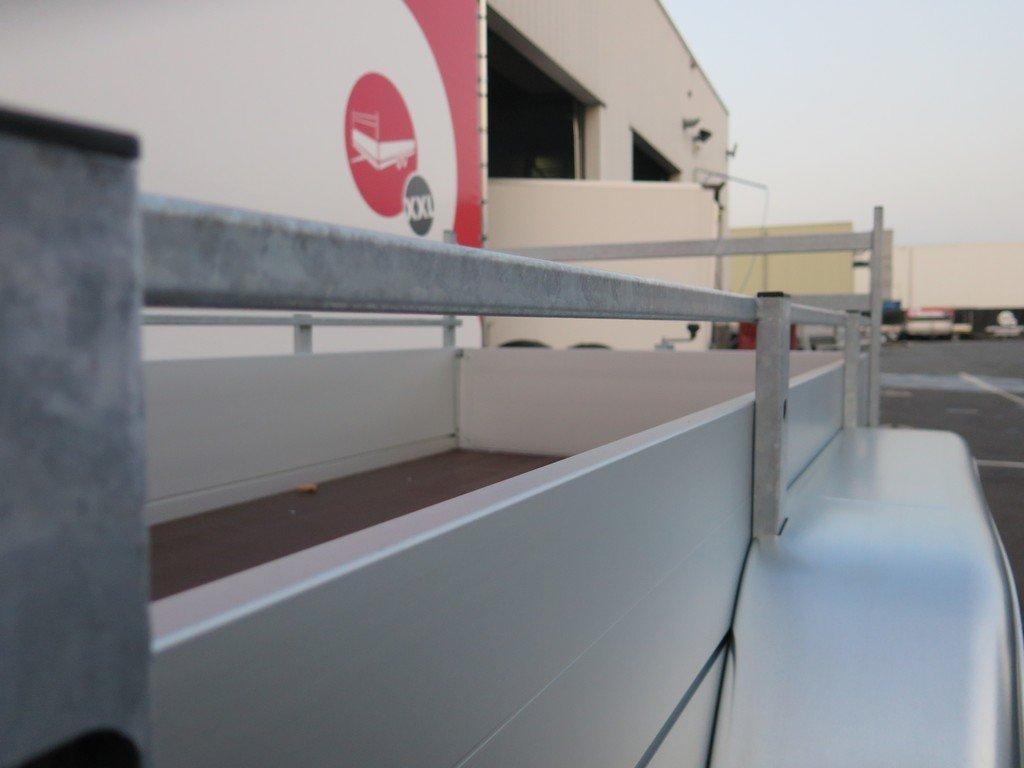 Anssems tandemas aanhanger 251x130cm 2500kg Aanhangwagens XXL West Brabant 2.0 bindreling