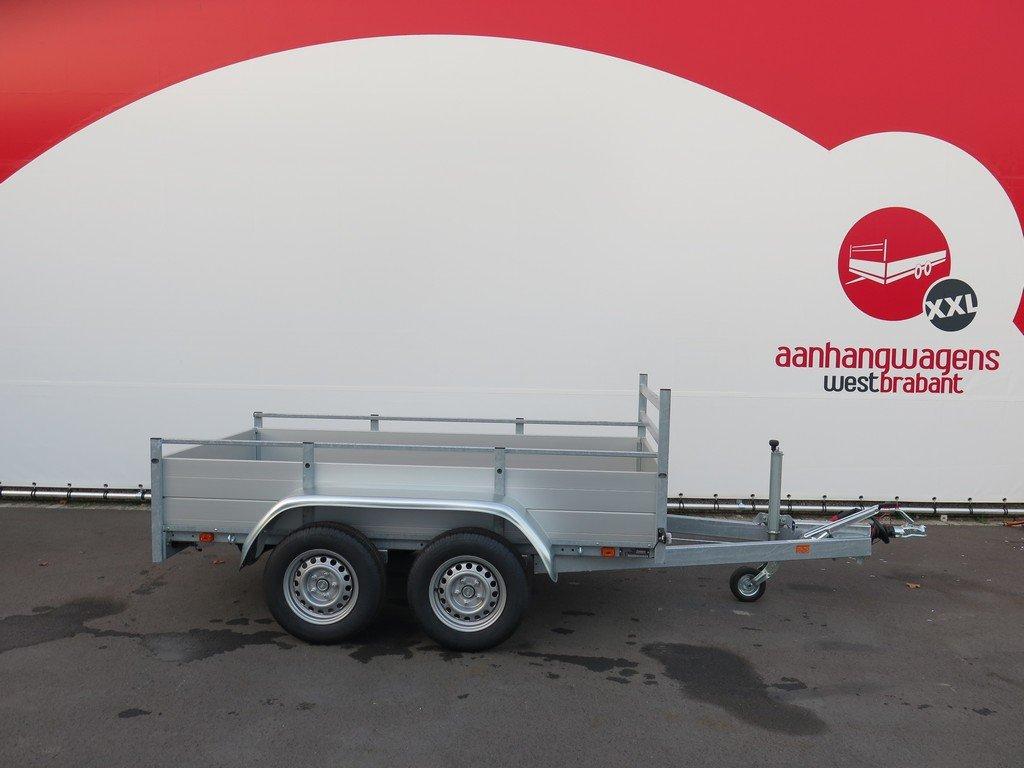 Anssems tandemas aanhanger 251x130cm 2500kg Aanhangwagens XXL West Brabant 2.0 hoofd