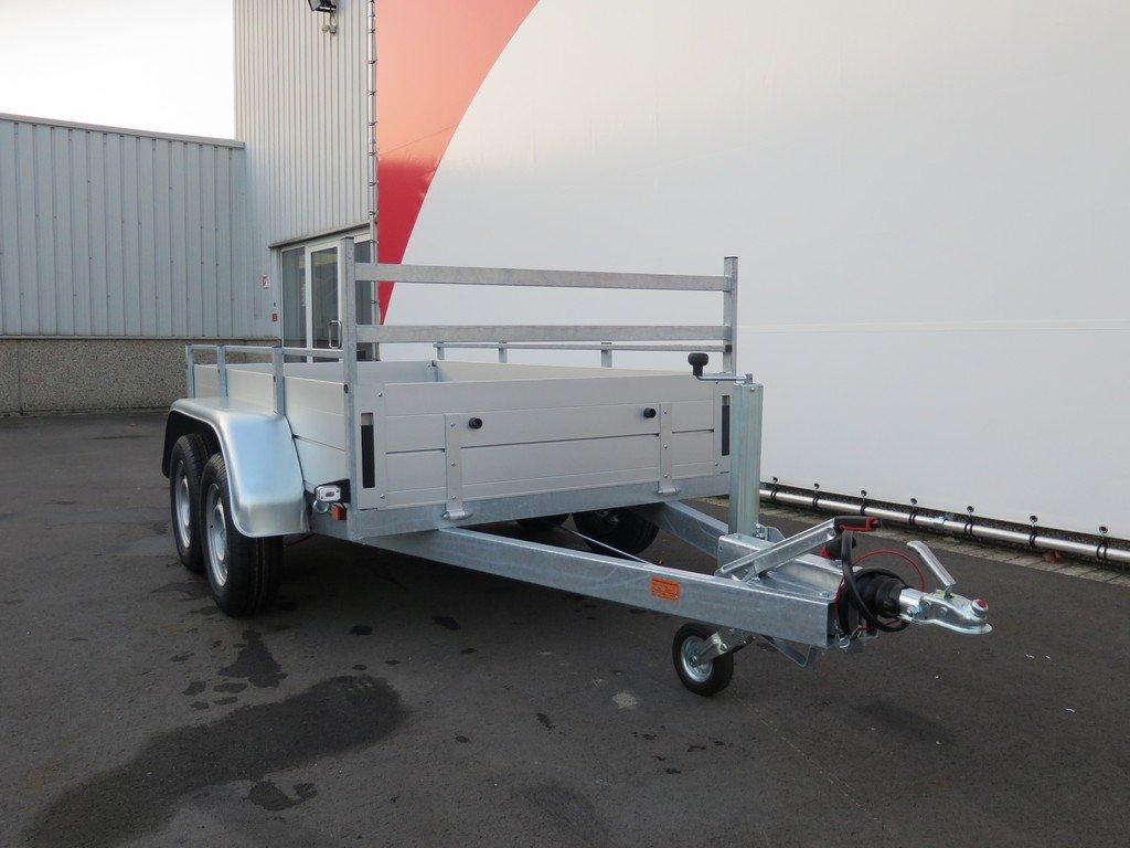 Anssems tandemas aanhanger 251x130cm 2500kg Aanhangwagens XXL West Brabant 2.0 voorkant