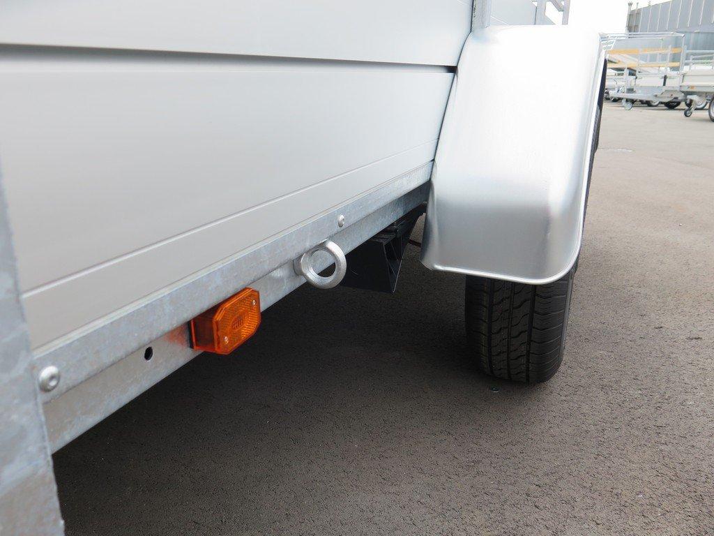 Anssems tandemas aanhanger 301x150cm 2500kg alu Aanhangwagens XXL West Brabant 2.0 bindoog