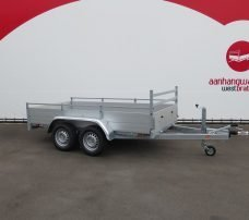 Anssems tandemas aanhanger 301x150cm 2500kg alu Aanhangwagens XXL West Brabant 2.0 hoofd