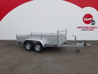 Anssems tandemas aanhanger 301x150cm 2500kg alu Aanhangwagens XXL West Brabant 2.0 hoofd Aanhangwagens XXL West Brabant