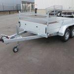 Anssems tandemas aanhanger 301x150cm 2500kg alu Aanhangwagens XXL West Brabant 2.0 overzicht