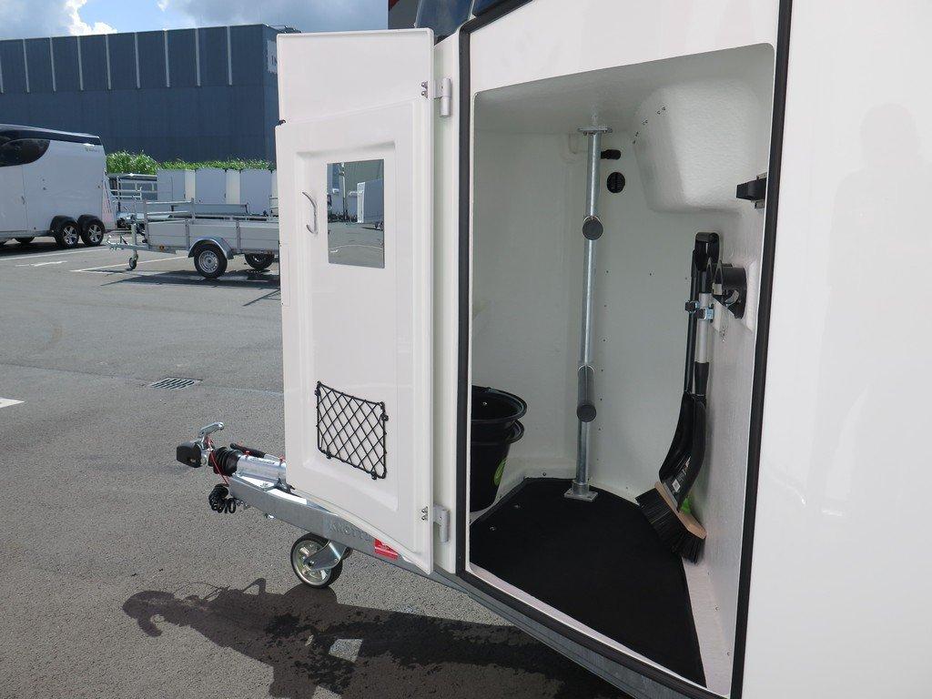 Bucker Careliner M poly 2 paards paardentrailer Aanhangwagens XXL West Brabant 4.0 zadelkamer