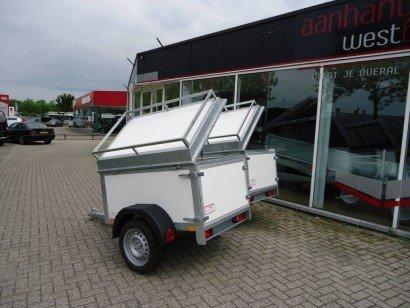 Easyline bagagewagen 150x100x60cm bagagewagens Aanhangwagens XXL West Brabant hoofd