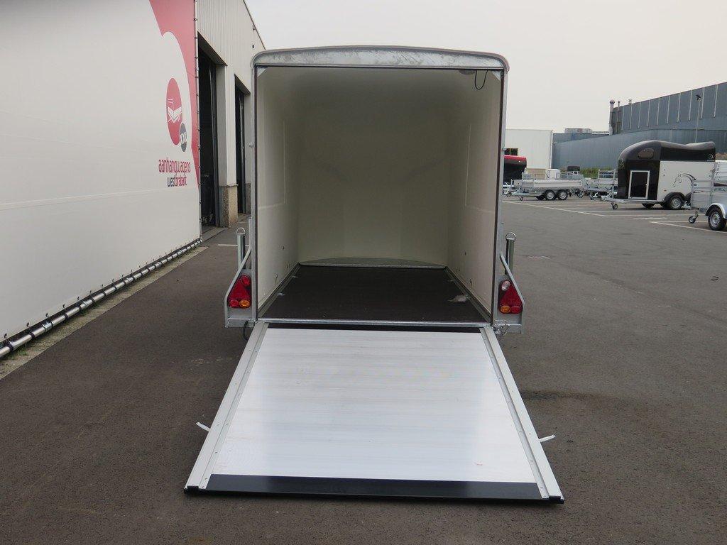 Easyline gesloten aanhanger 300x151x170cm 1300kg zwart Aanhangwagens XXL West Brabant 4.0 achter open Aanhangwagens XXL West Brabant