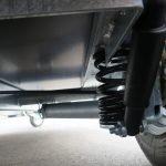 Easyline gesloten aanhanger 300x151x170cm 1300kg zwart Aanhangwagens XXL West Brabant 4.0 wielophanging Aanhangwagens XXL West Brabant