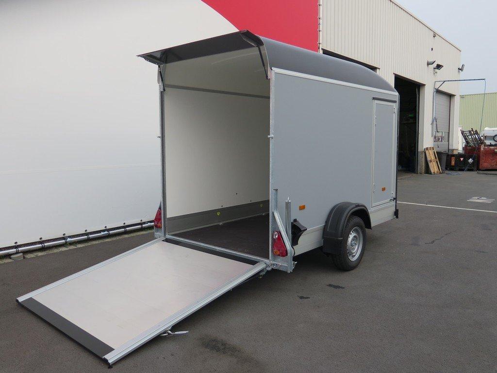 Easyline gesloten aanhanger 302x150x197cm 1300kg Aanhangwagens XXL West Brabant 3.0 achterklep Aanhangwagens XXL West Brabant