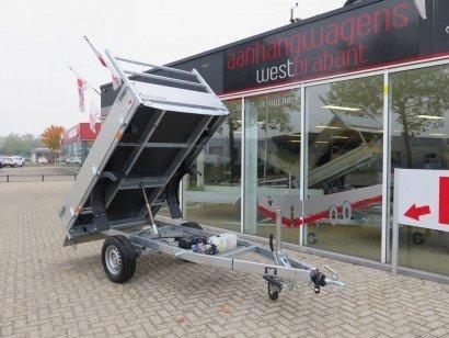 Easyline kipper 250x150cm 1500kg kippers Aanhangwagens XXL West Brabant hoofd