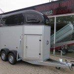 Henra alu 1,5 paards trailer paardentrailers Aanhangwagens XXL West Brabant hoofd