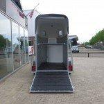 Henra alu 1,5 paards trailer paardentrailers Aanhangwagens XXL West Brabant oploopklep