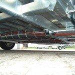 Hulco machinetransporter 394x180cm 3000kg Aanhangwagens XXL West Brabant onderstel Aanhangwagens XXL West Brabant