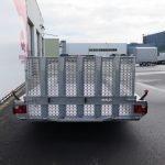Hulco machinetransporter 394x180cm 3500kg Aanhangwagens XXL West Brabant 2.0 achter dicht Aanhangwagens XXL West Brabant