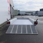 Hulco machinetransporter 394x180cm 3500kg Aanhangwagens XXL West Brabant 2.0 achter open Aanhangwagens XXL West Brabant