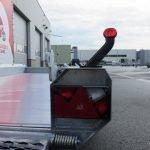 Hulco machinetransporter 394x180cm 3500kg Aanhangwagens XXL West Brabant 2.0 breedtelichten Aanhangwagens XXL West Brabant