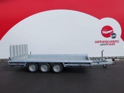Hulco machinetransporter 394x180cm 3500kg Aanhangwagens XXL West Brabant 2.0 hoofd Aanhangwagens XXL West Brabant