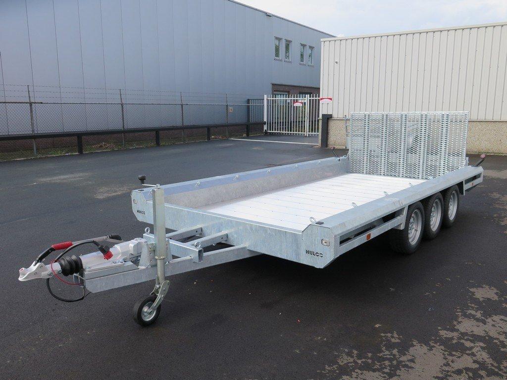 Hulco machinetransporter 394x180cm 3500kg Aanhangwagens XXL West Brabant 2.0 overzicht Aanhangwagens XXL West Brabant