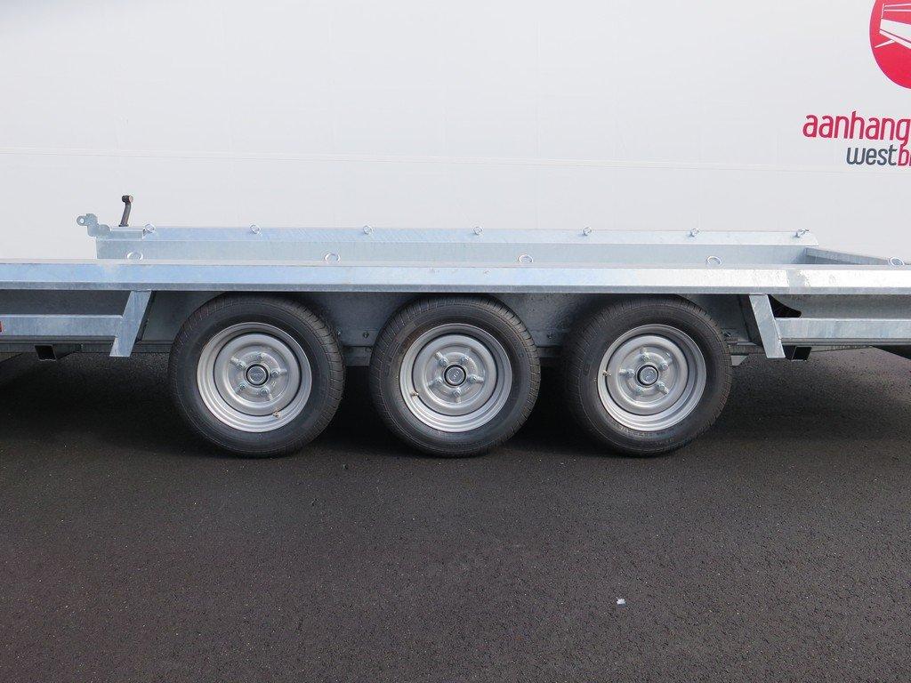 Hulco machinetransporter 394x180cm 3500kg Aanhangwagens XXL West Brabant 2.0 tridemas Aanhangwagens XXL West Brabant
