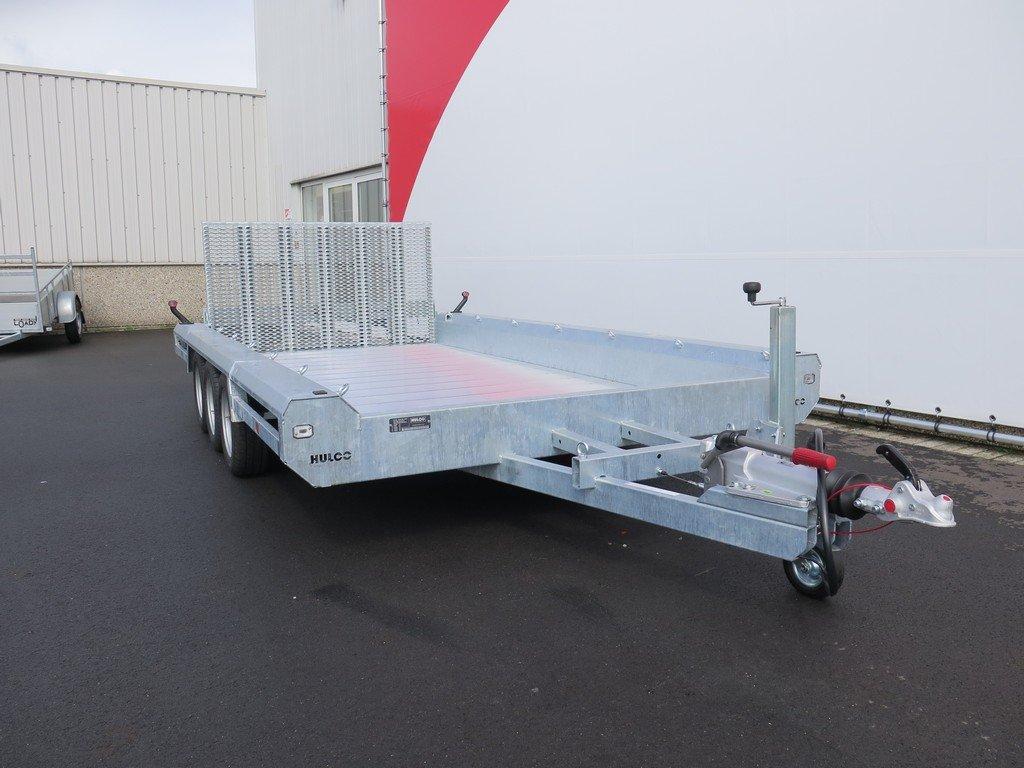 Hulco machinetransporter 394x180cm 3500kg Aanhangwagens XXL West Brabant 2.0 voorkant Aanhangwagens XXL West Brabant