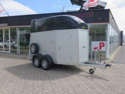 Humbaur Xanthos 2 paards trailer paardentrailers Aanhangwagens XXL West Brabant 2.0 hoofd