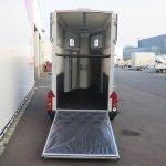 Ifor Williams HB403 1,5 paards paardentrailer Aanhangwagens XXL West Brabant 2.0 achterkant open Aanhangwagens XXL West Brabant