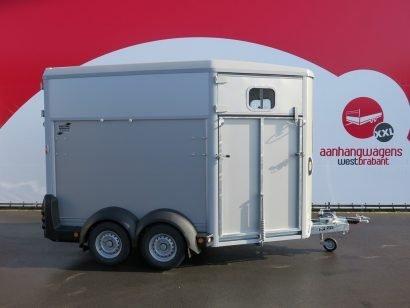 Ifor Williams HB511 2 paards paardentrailer Aanhangwagens XXL West Brabant 2.0 hoofd