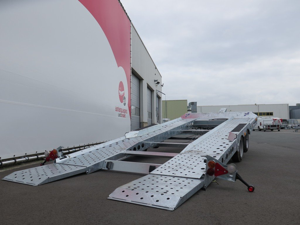 Ifor Williams autotransporter 510x230cm 3500kg Aanhangwagens XXL West Brabant 2.0 gekanteld Aanhangwagens XXL West Brabant