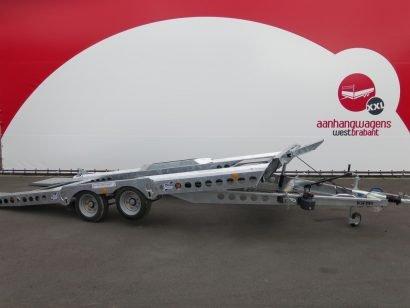 Ifor Williams autotransporter 510x230cm 3500kg Aanhangwagens XXL West Brabant 2.0 hoofd
