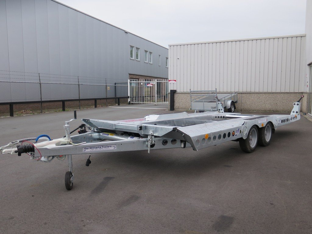 Ifor Williams autotransporter 510x230cm 3500kg Aanhangwagens XXL West Brabant 2.0 overzicht Aanhangwagens XXL West Brabant