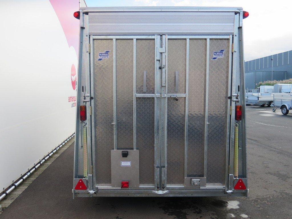 Ifor Williams bloemenwagen 364x173x214cm 3500kg Aanhangwagens XXL West Brabant 2.0 achter dicht Aanhangwagens XXL West Brabant