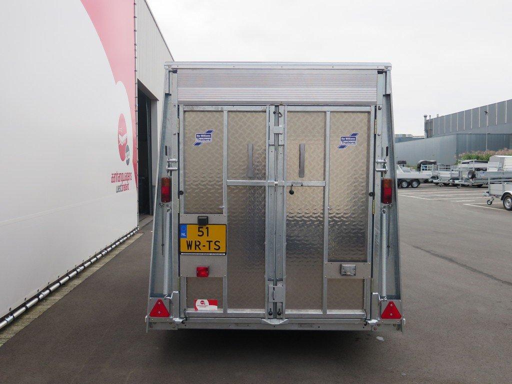 Ifor Williams gesloten aanhanger 303x147x183cm 2700kg Aanhangwagens XXL West Brabant 2.0 achter dicht Aanhangwagens XXL West Brabant