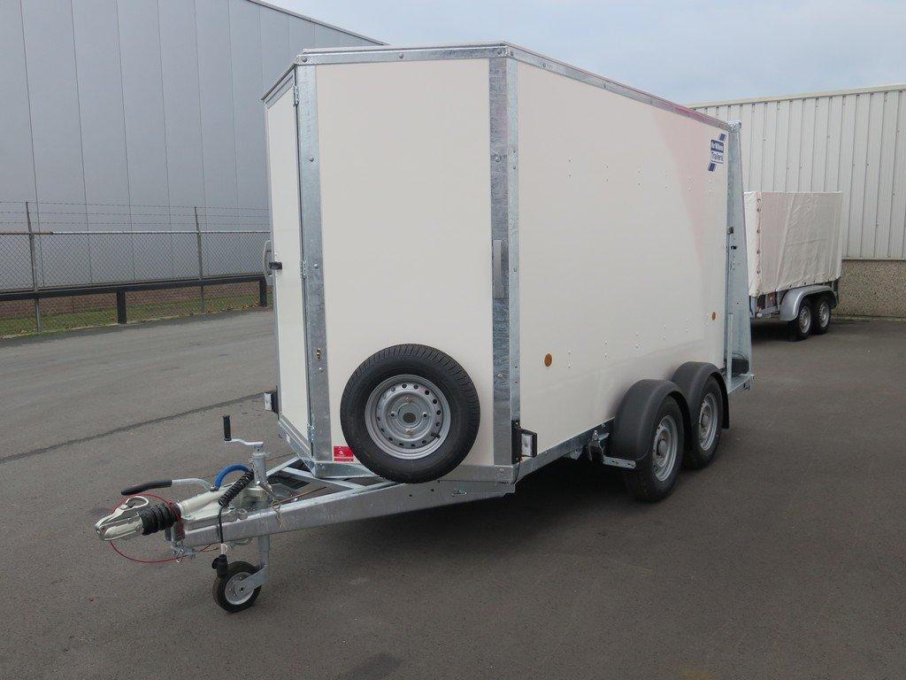 Ifor Williams gesloten aanhanger 303x147x183cm 2700kg Aanhangwagens XXL West Brabant 2.0 overzicht Aanhangwagens XXL West Brabant