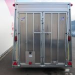 Ifor Williams gesloten aanhanger 364x173x214cm 3500kg Aanhangwagens XXL West Brabant 2.0 achter dicht