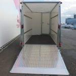 Ifor Williams gesloten aanhanger 364x173x214cm 3500kg Aanhangwagens XXL West Brabant 2.0 achter open