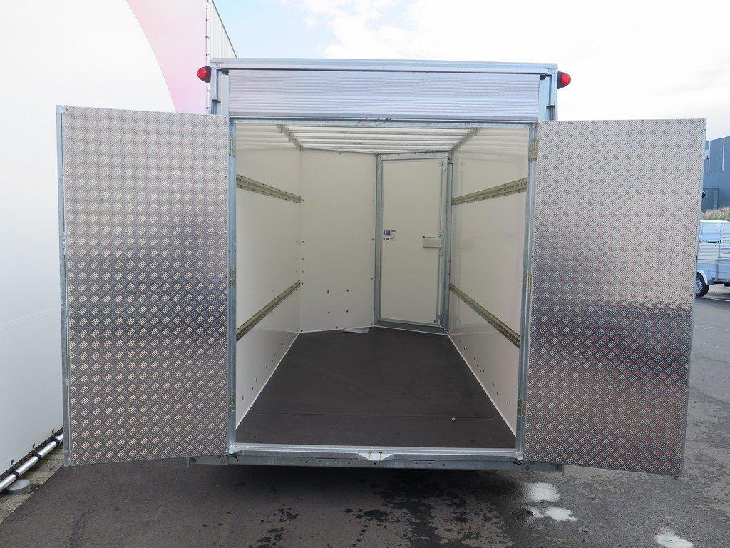 Ifor Williams gesloten aanhanger 364x173x214cm 3500kg Aanhangwagens XXL West Brabant 2.0 klep-deur