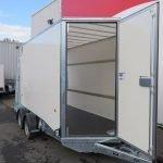 Ifor Williams gesloten aanhanger 364x173x214cm 3500kg Aanhangwagens XXL West Brabant 2.0 zijdeur