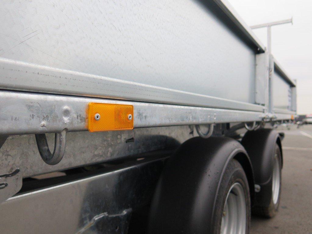 Ifor Williams kipper 362x195cm 3500kg Aanhangwagens XXL West Brabant 2.0 bindhaken