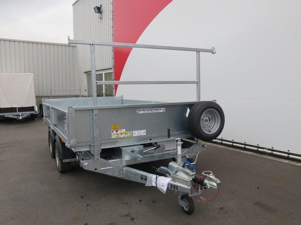 Ifor Williams kipper 362x195cm 3500kg Aanhangwagens XXL West Brabant 2.0 voorkant