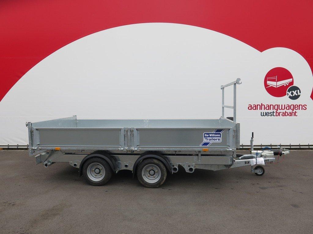 Ifor Williams kipper 362x195cm 3500kg Aanhangwagens XXL West Brabant 2.0 zijkant vlak